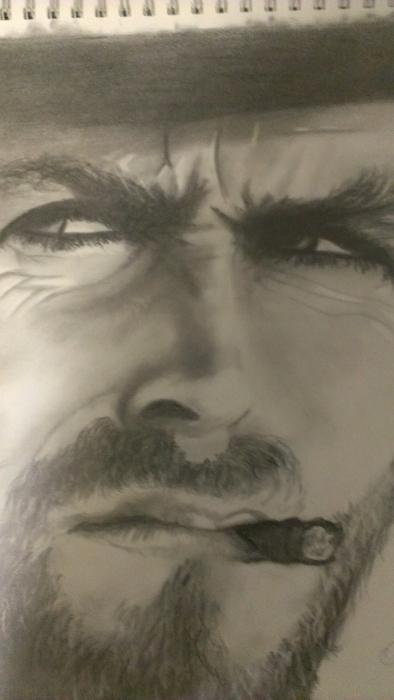 Clint Eastwood por Martin1421